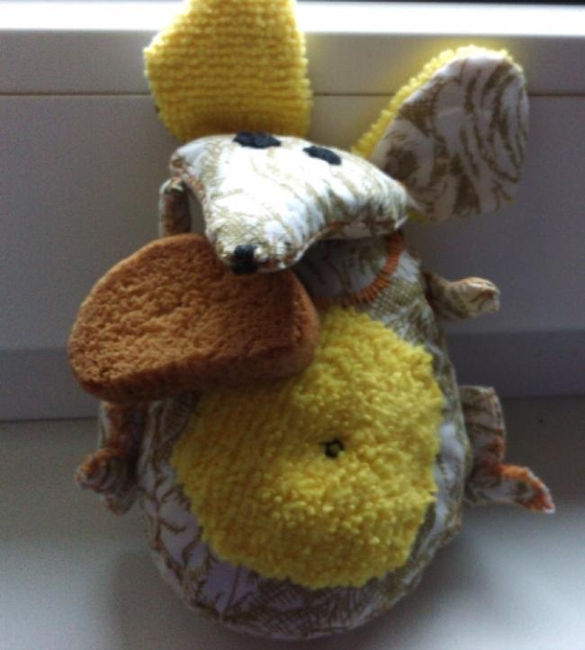 Игрушка-грелка «Мышь Машка»