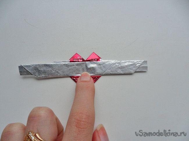 Кольца для детей из фантиков