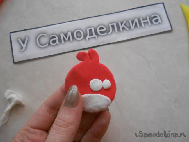 Магнитик на холодильник «Angry Birds»