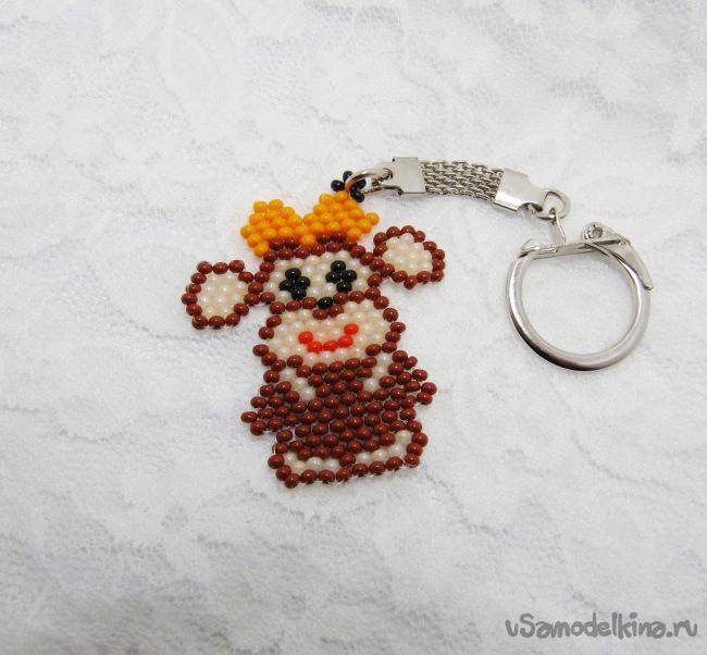 Брелок Милая обезьянка