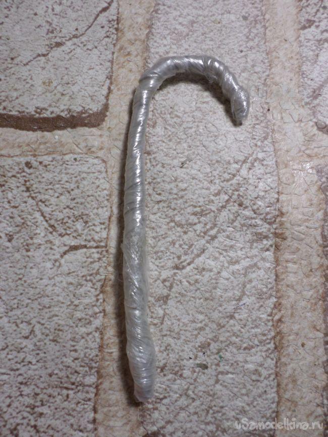 Леденцы на ёлку из бросового материала