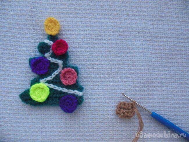 Мягкая открытка «Ёлка новогодняя»