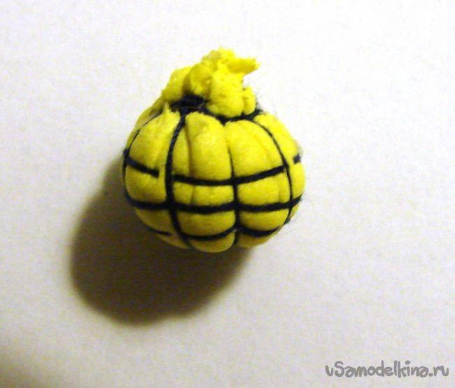 Анемона дикорастущая из фоамирана