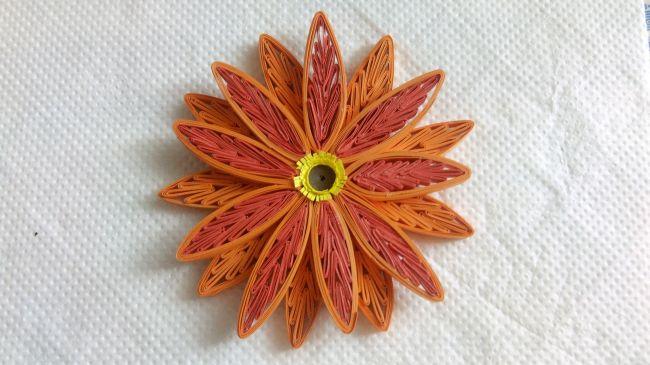 Декоративное панно «Цветы осени»