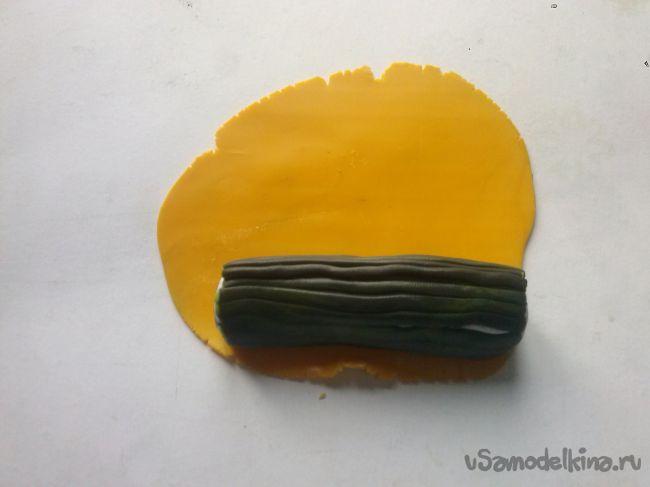 Бабочка из полимерной глины