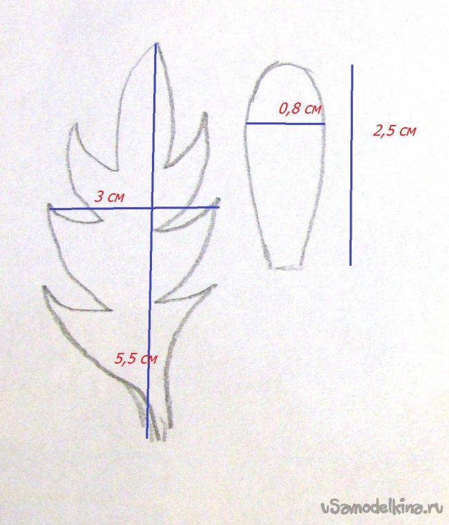 Полевая ромашка из фоамирана