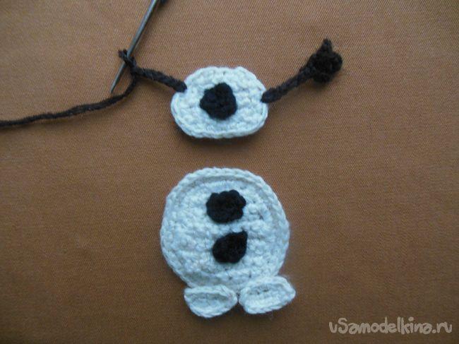 Снеговик Олаф из м/ф «Холодное сердце»