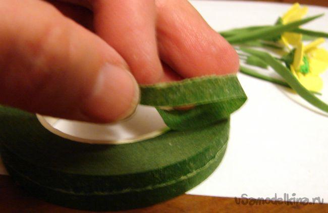 Лютики луговые из фоамирана