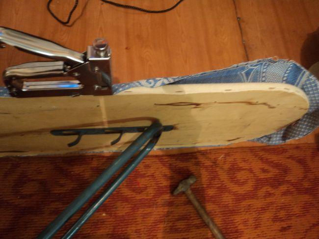 Реставрация старой гладильной доски