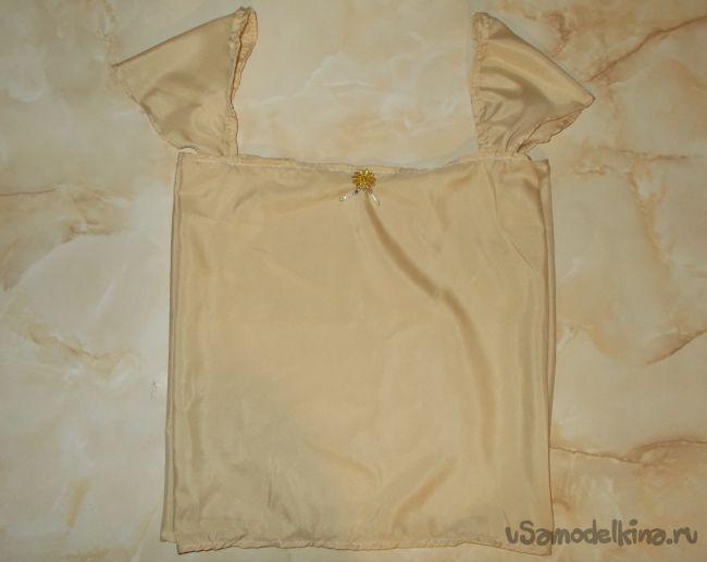 Как сшить маечку (рубашку) своими руками для девочки