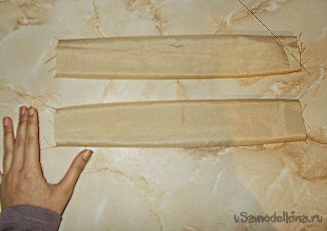 Тапочки с пластиковой подошвой своими руками