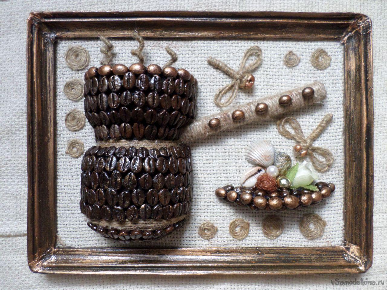 Панно из зерна своими руками фото