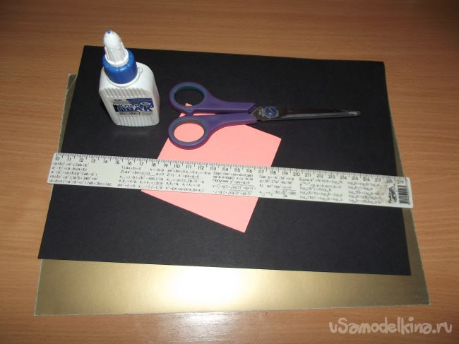 Открытка оригами «Рубашка с галстуком»