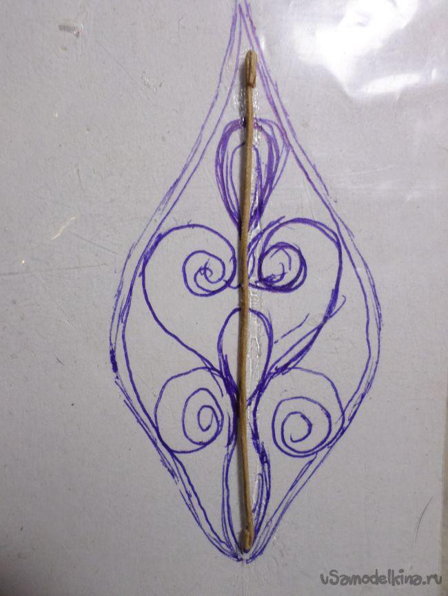 Шкатулочка «Ажурный цветочек»