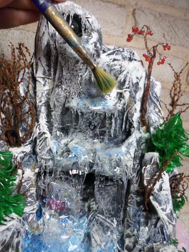 Водопад «Зимняя сказка»