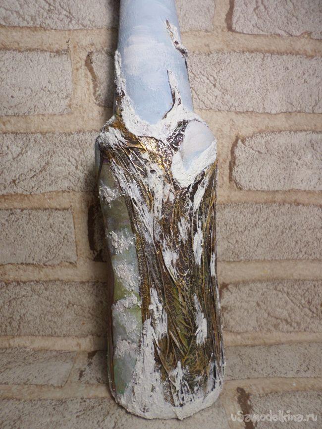 Декор по стеклу  «Зимние сказки»