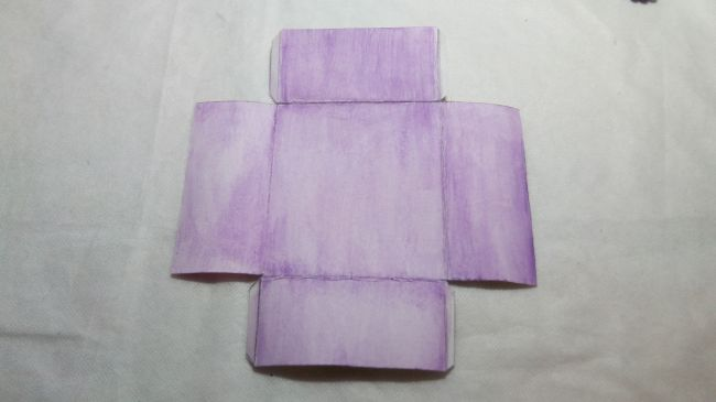Коробочка «Сиреневые грезы»