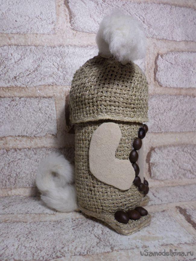 Баночка «Кофейная собачка»