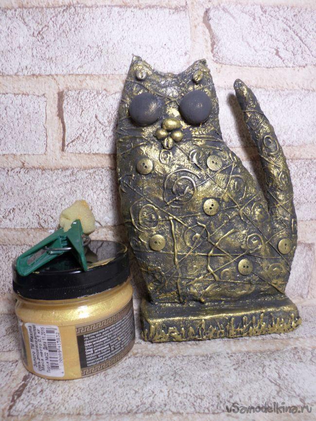 Статуэтка-бижутерница  «Милый котик»