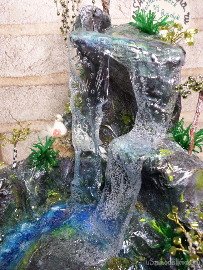 Весенний водопад «Райский уголок»