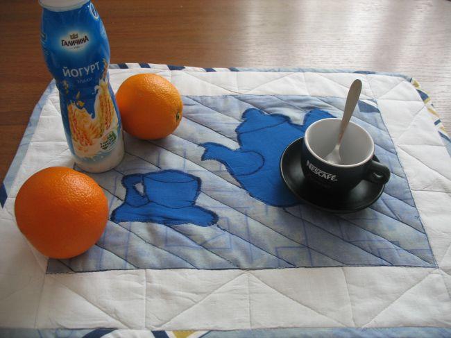 Мастер-класс. Салфетка для завтрака