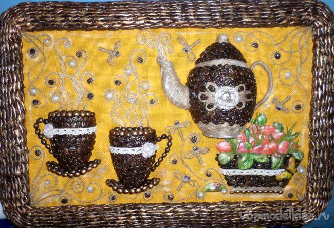 Панно «Кружечка кофе»